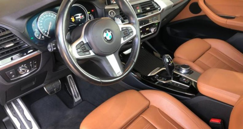 Bmw X3 xDrive20dA 190ch M Sport Noir occasion à METZ - photo n°6