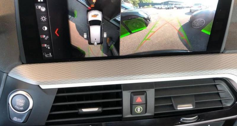 Bmw X3 xDrive20dA 190ch M Sport Noir occasion à METZ - photo n°7