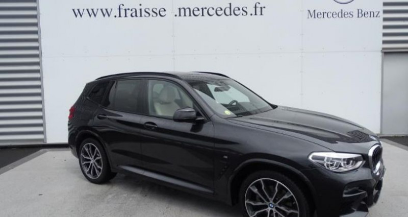 Bmw X3 xDrive20dA 190ch M Sport Noir occasion à Saint-germain-laprade - photo n°2