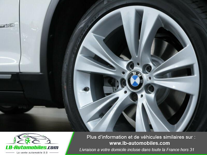 Bmw X3 xDrive35i 306ch Blanc occasion à Beaupuy - photo n°7