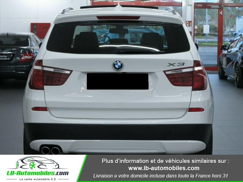 Bmw X3 xDrive35i 306ch Blanc occasion à Beaupuy - photo n°5