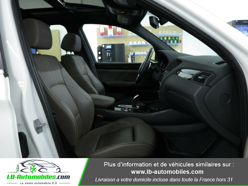 Bmw X3 xDrive35i 306ch Blanc occasion à Beaupuy - photo n°13