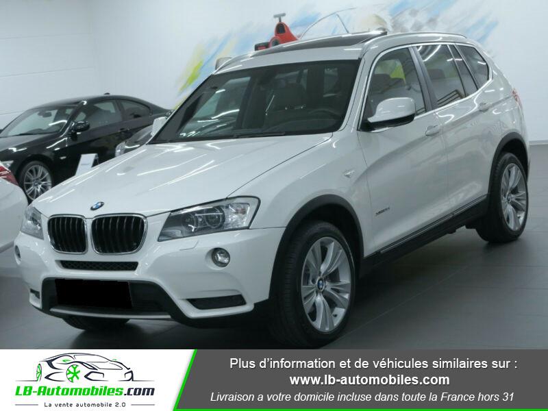 Bmw X3 xDrive35i 306ch Blanc occasion à Beaupuy
