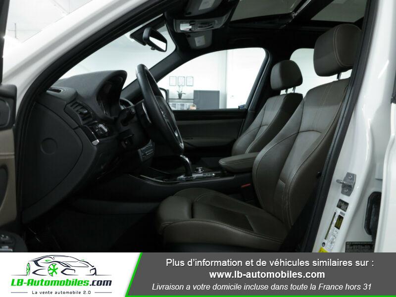 Bmw X3 xDrive35i 306ch Blanc occasion à Beaupuy - photo n°12