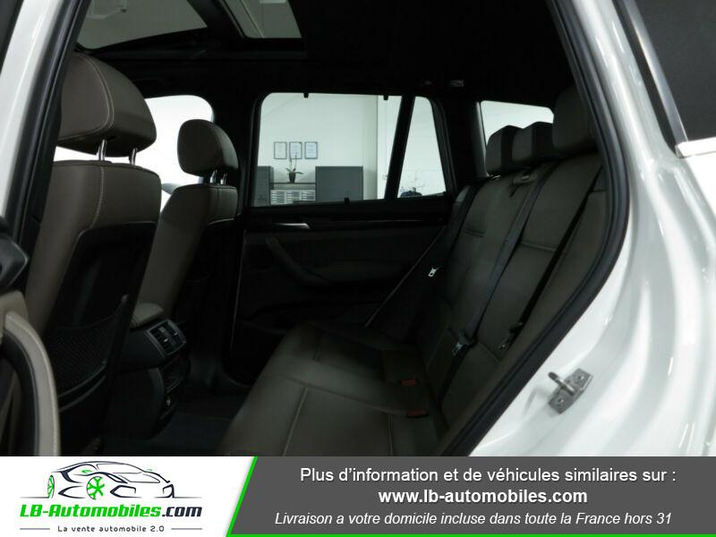 Bmw X3 xDrive35i 306ch Blanc occasion à Beaupuy - photo n°14