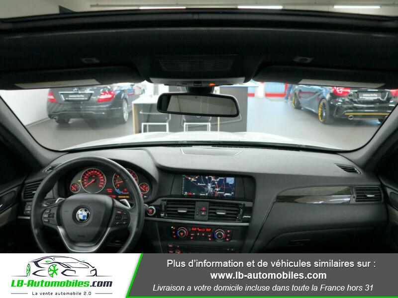 Bmw X3 xDrive35i 306ch Blanc occasion à Beaupuy - photo n°9