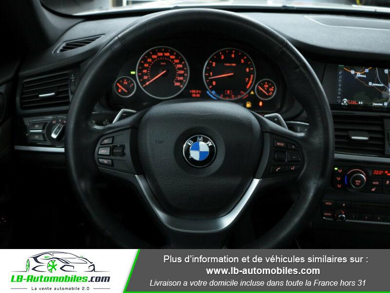 Bmw X3 xDrive35i 306ch Blanc occasion à Beaupuy - photo n°10