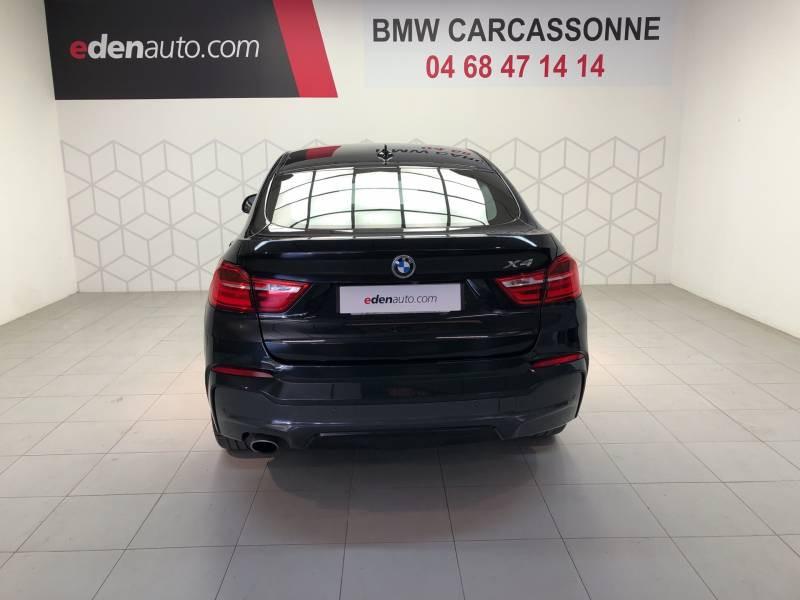 Bmw X4 F26 xDrive20d 190ch M Sport A Noir occasion à Carcassonne - photo n°8