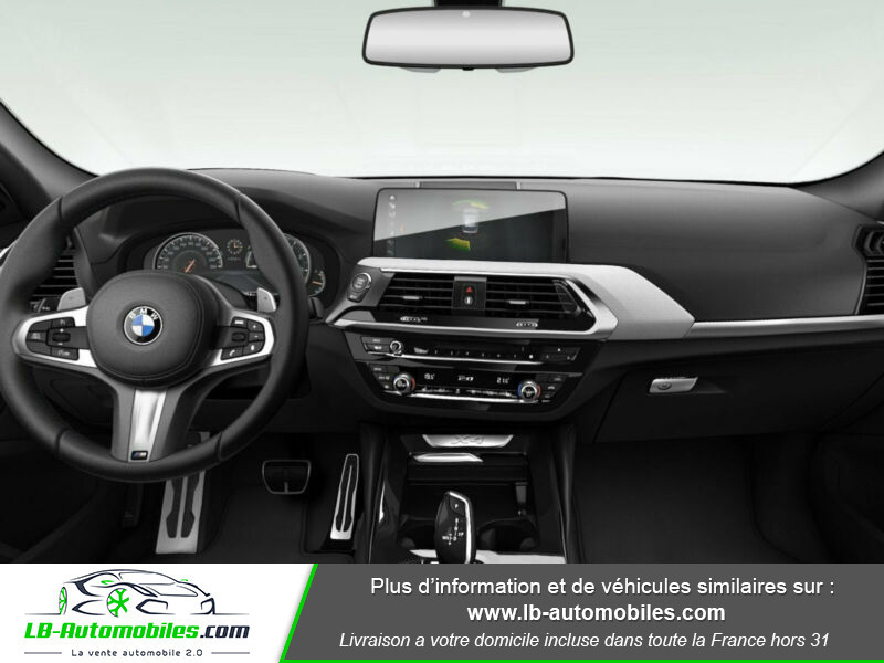 Bmw X4 xDrive20i 184 ch BVA8 / G02 M-Sport Gris occasion à Beaupuy - photo n°2