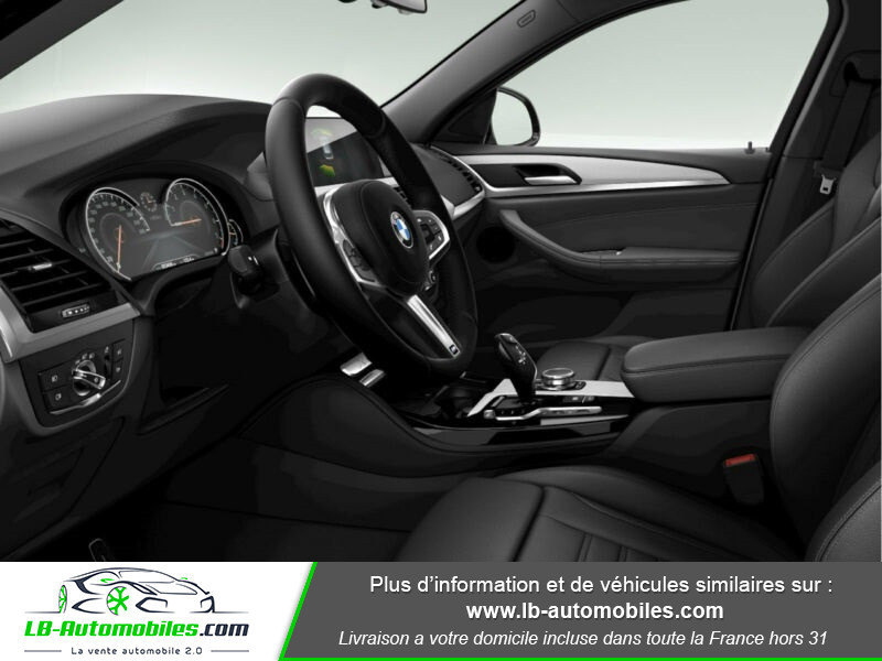 Bmw X4 xDrive20i 184 ch BVA8 / G02 M-Sport Gris occasion à Beaupuy - photo n°4