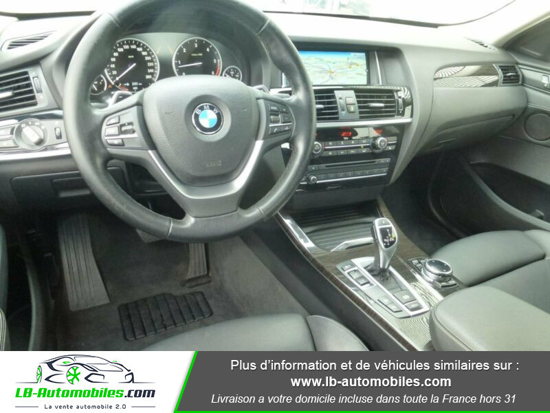 Bmw X4 xDrive30d 258ch Gris occasion à Beaupuy - photo n°2
