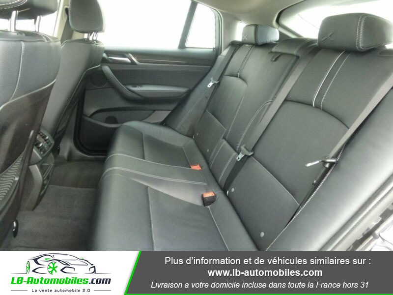 Bmw X4 xDrive30d 258ch Gris occasion à Beaupuy - photo n°5