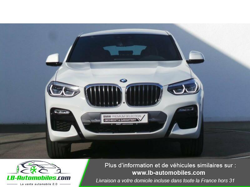 Bmw X4 xDrive30d 265 ch BVA8 / G02 M-Sport Blanc occasion à Beaupuy - photo n°11
