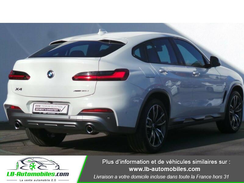 Bmw X4 xDrive30d 265 ch BVA8 / G02 M-Sport Blanc occasion à Beaupuy - photo n°3