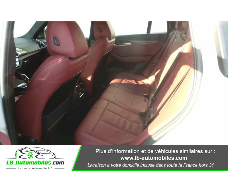 Bmw X4 xDrive30d 265 ch BVA8 / G02 M-Sport Blanc occasion à Beaupuy - photo n°4