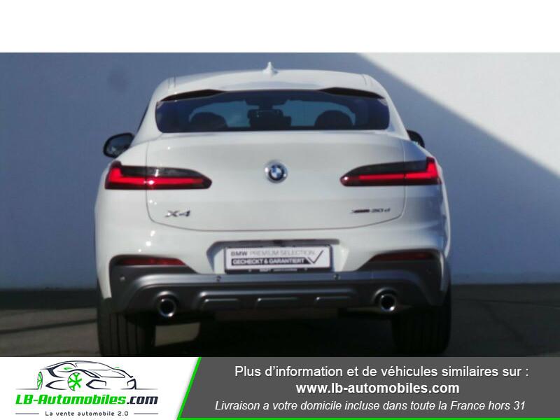 Bmw X4 xDrive30d 265 ch BVA8 / G02 M-Sport Blanc occasion à Beaupuy - photo n°9
