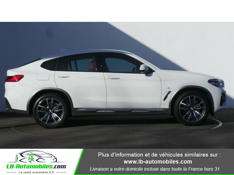 Bmw X4 xDrive30d 265 ch BVA8 / G02 M-Sport Blanc occasion à Beaupuy - photo n°10