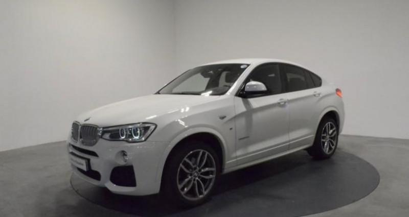 Bmw X4 xDrive30dA 258ch M Sport Blanc occasion à LAXOU