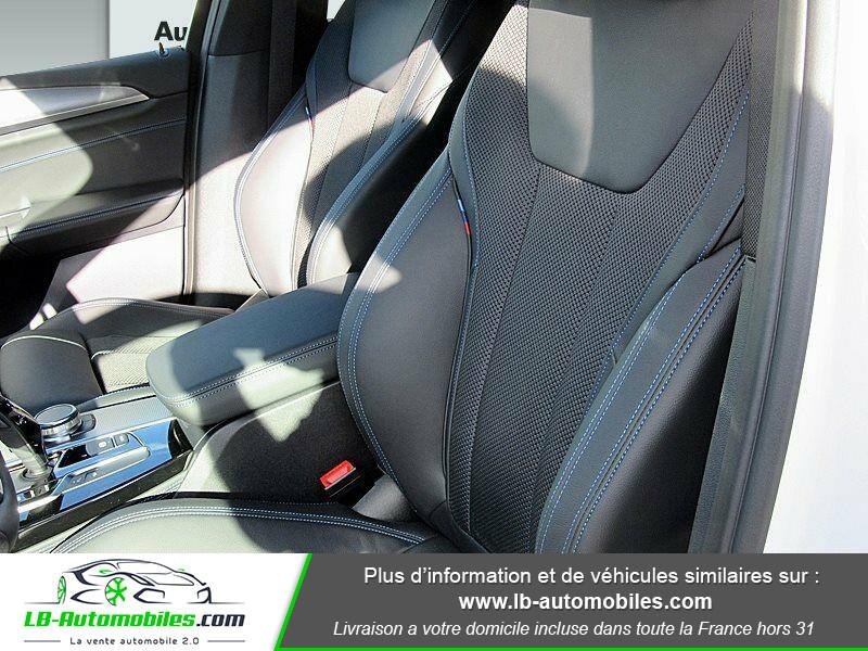 Bmw X4 xDrive30i 252 ch BVA8 / G02 M-Sport Blanc occasion à Beaupuy - photo n°5