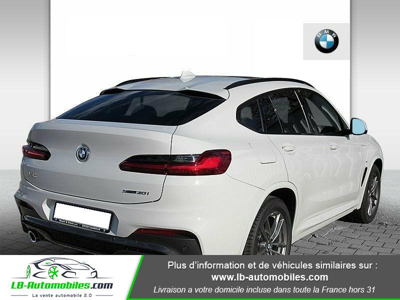 Bmw X4 xDrive30i 252 ch BVA8 / G02 M-Sport Blanc occasion à Beaupuy - photo n°3