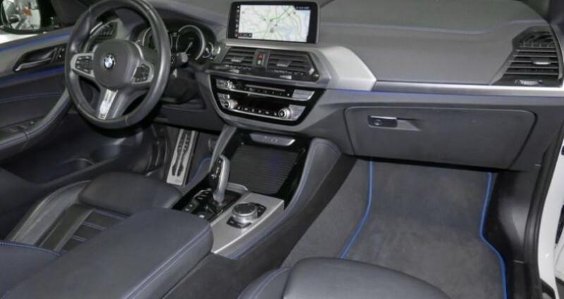 Bmw X4 xDrive30i 252ch M Sport Euro6d-T 151g Blanc occasion à Boulogne-Billancourt - photo n°4