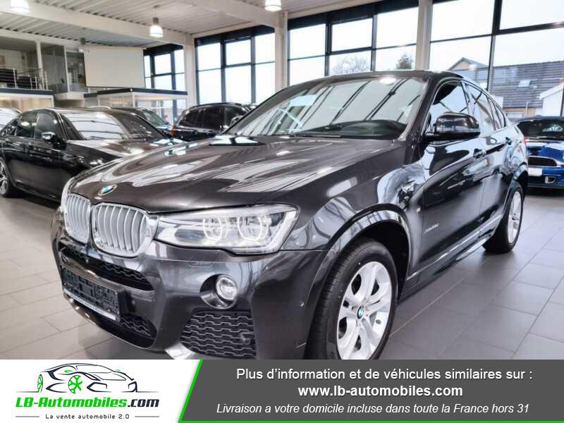 Bmw X4 xDrive35d 313ch / M-Sport Gris occasion à Beaupuy