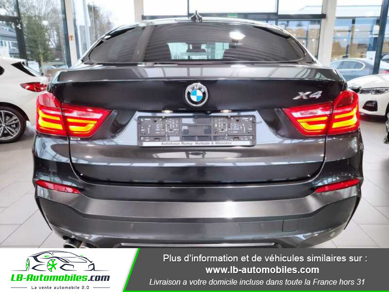 Bmw X4 xDrive35d 313ch / M-Sport Gris occasion à Beaupuy - photo n°14