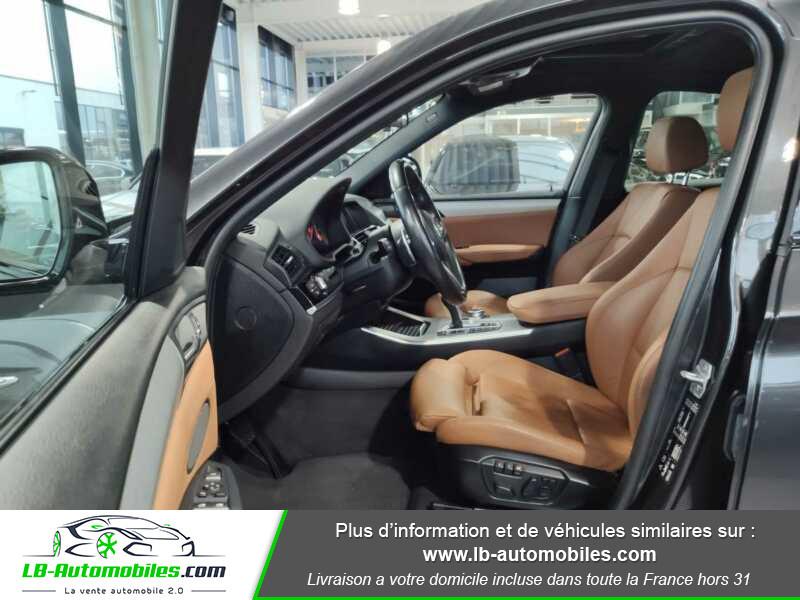 Bmw X4 xDrive35d 313ch / M-Sport Gris occasion à Beaupuy - photo n°4
