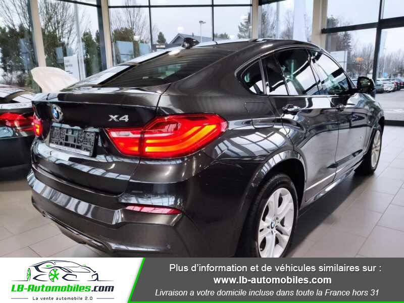 Bmw X4 xDrive35d 313ch / M-Sport Gris occasion à Beaupuy - photo n°3