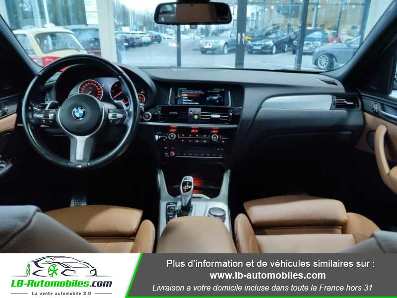 Bmw X4 xDrive35d 313ch / M-Sport Gris occasion à Beaupuy - photo n°2