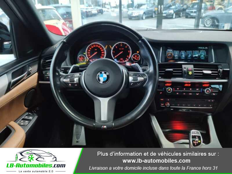Bmw X4 xDrive35d 313ch / M-Sport Gris occasion à Beaupuy - photo n°6