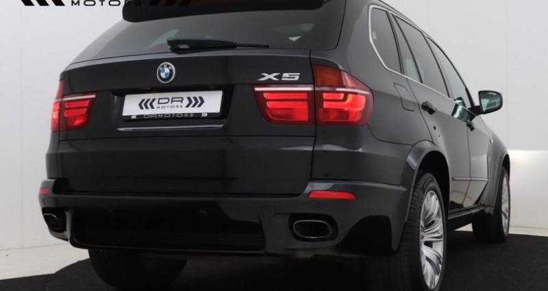 Bmw X5 3.0 dA xDrive30 M PAck- COMFORTZETELS - PANODAK Noir occasion à Brugge - photo n°7