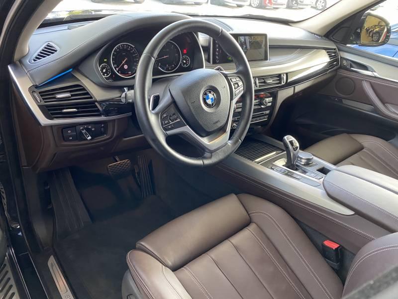 Bmw X5 F15 xDrive30d 258 ch xLine A Noir occasion à Brive-la-Gaillarde - photo n°4