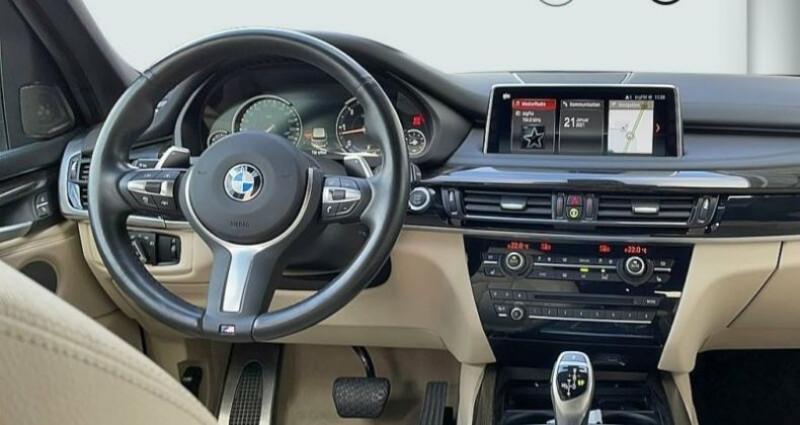Bmw X5 III (F15) xDrive30dA 258ch M Sport Noir occasion à Boulogne-Billancourt - photo n°6