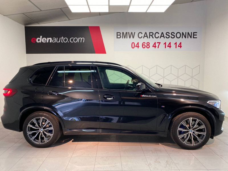 Bmw X5 X5 xDrive45e 394 ch BVA8 M Sport 5p Noir occasion à Carcassonne - photo n°3