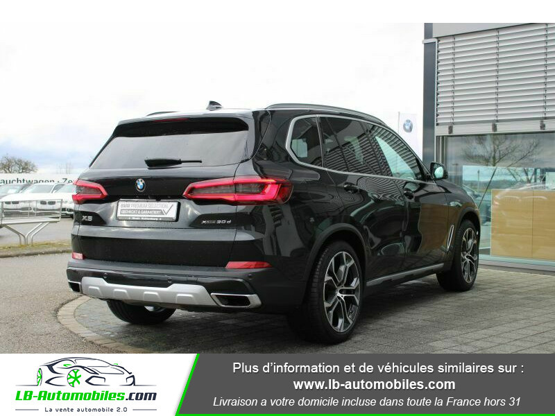 Bmw X5 xDrive30d 265 ch BVA8 / G05 Noir occasion à Beaupuy - photo n°3