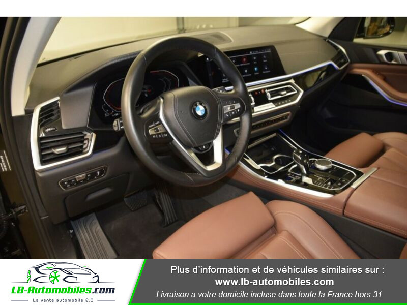Bmw X5 xDrive30d 265 ch BVA8 / G05 Noir occasion à Beaupuy - photo n°6
