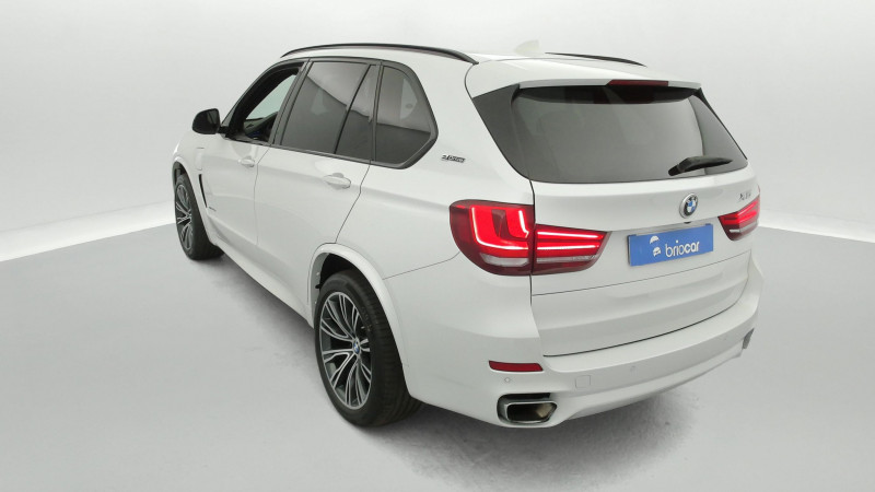 Bmw X5 xDrive40eA 313ch M Sport + Toit ouvrant suréquipé Blanc occasion à SAINT-GREGOIRE - photo n°3
