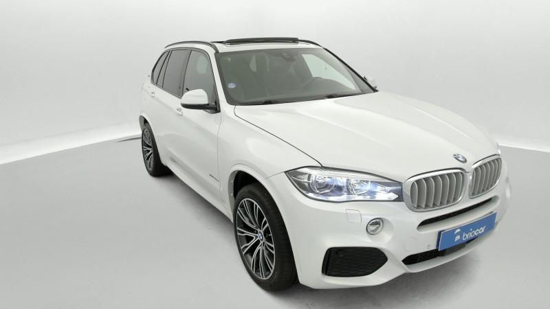 Bmw X5 xDrive40eA 313ch M Sport + Toit ouvrant suréquipé Blanc occasion à SAINT-GREGOIRE - photo n°7