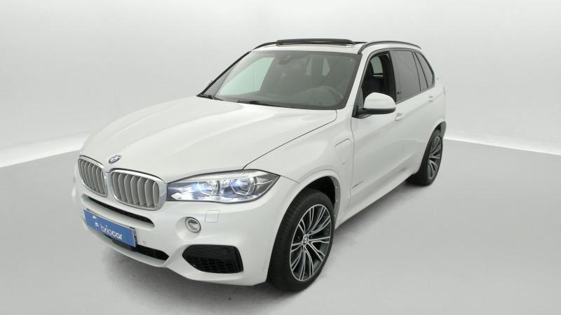 Bmw X5 xDrive40eA 313ch M Sport + Toit ouvrant suréquipé Blanc occasion à SAINT-GREGOIRE