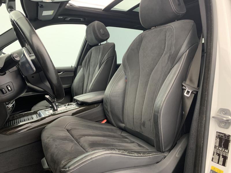Bmw X5 xDrive40eA 313ch M Sport + Toit ouvrant suréquipé Blanc occasion à SAINT-GREGOIRE - photo n°9