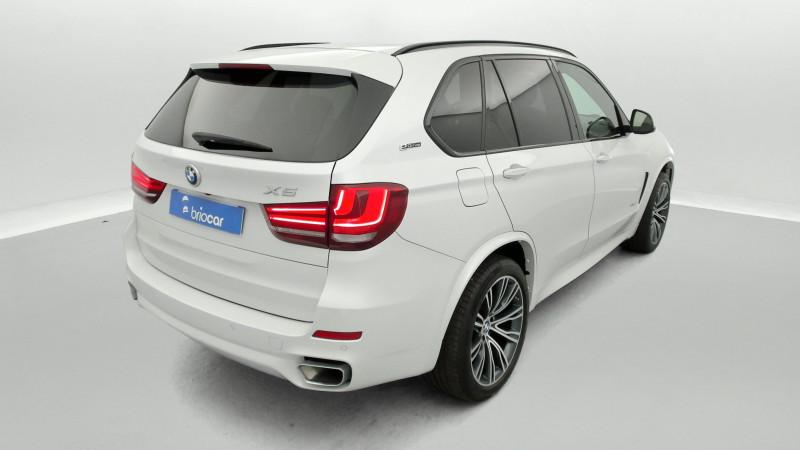 Bmw X5 xDrive40eA 313ch M Sport + Toit ouvrant suréquipé Blanc occasion à SAINT-GREGOIRE - photo n°5