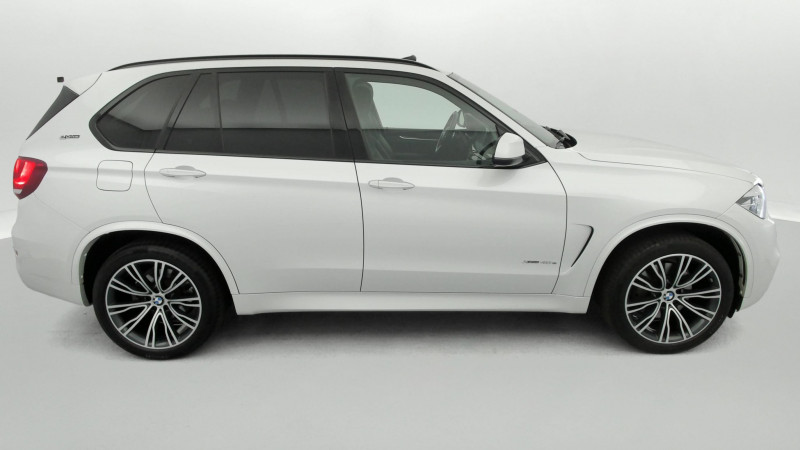 Bmw X5 xDrive40eA 313ch M Sport + Toit ouvrant suréquipé Blanc occasion à SAINT-GREGOIRE - photo n°6
