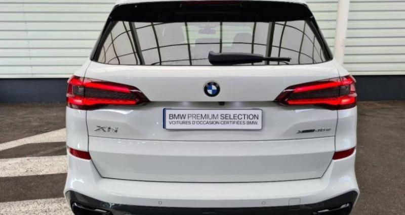 Bmw X5 xDrive45eA 394ch M Sport 17cv Blanc occasion à Forbach - photo n°4