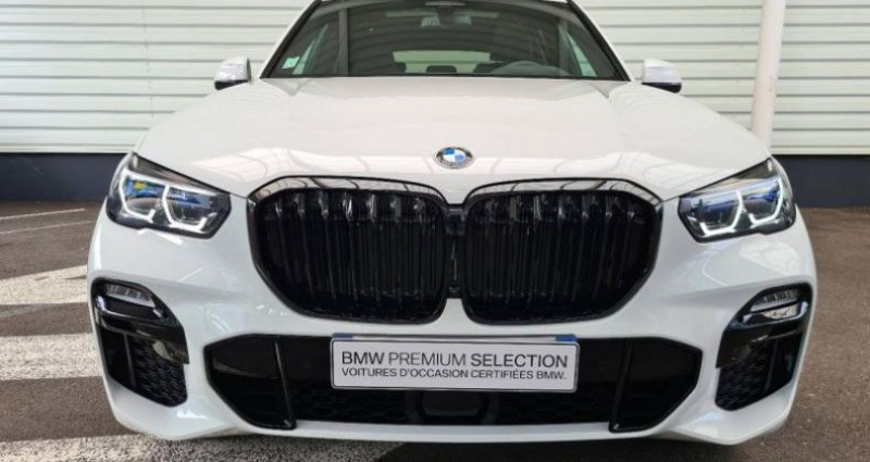 Bmw X5 xDrive45eA 394ch M Sport 17cv Blanc occasion à Forbach - photo n°2