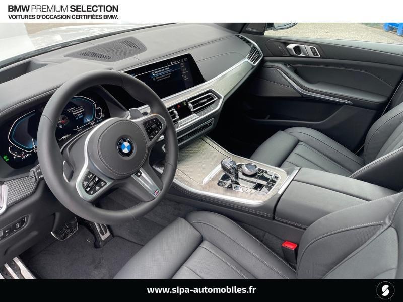 Bmw X5 xDrive45eA 394ch M Sport 17cv Blanc occasion à Montauban - photo n°4
