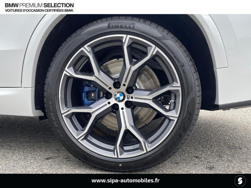 Bmw X5 xDrive45eA 394ch M Sport 17cv Blanc occasion à Montauban - photo n°8