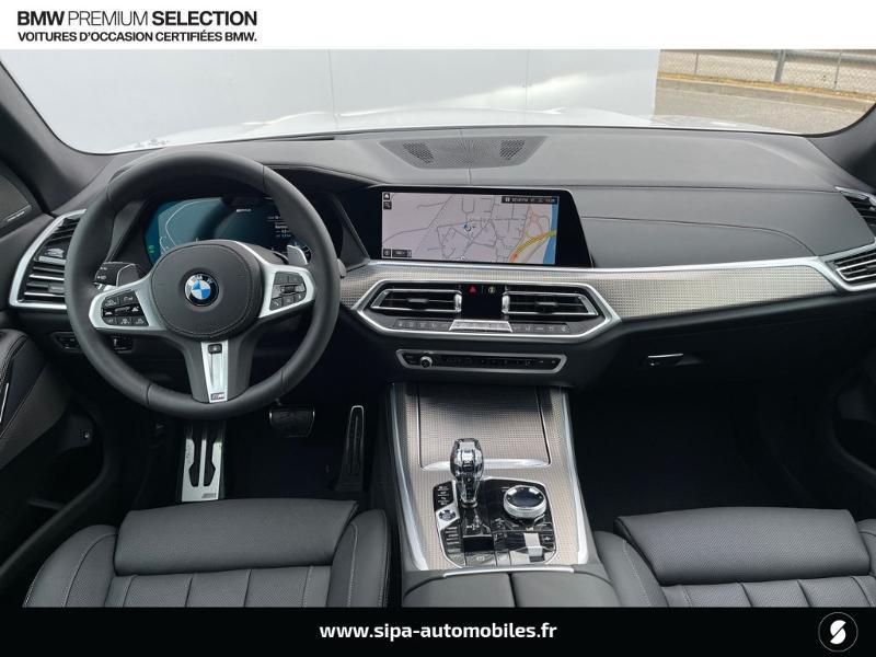 Bmw X5 xDrive45eA 394ch M Sport 17cv Blanc occasion à Montauban - photo n°5