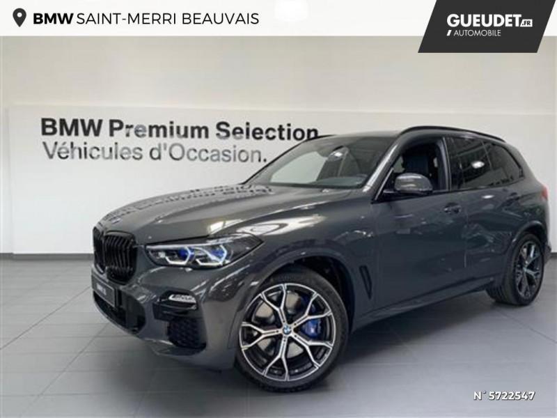 Bmw X5 xDrive45eA 394ch M Sport 17cv Gris occasion à Beauvais