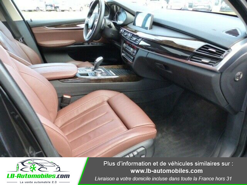 Bmw X5 xDrive50i 450 ch Noir occasion à Beaupuy - photo n°4